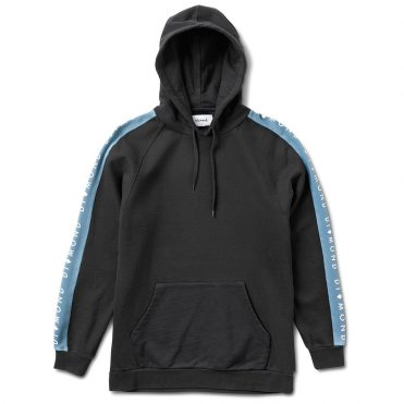 Diamond Supply Co Fordham Knit Pullover Hooded Sweatshirt Black