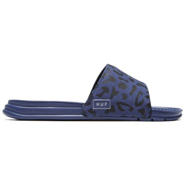 HUF Slide Blue Leopard