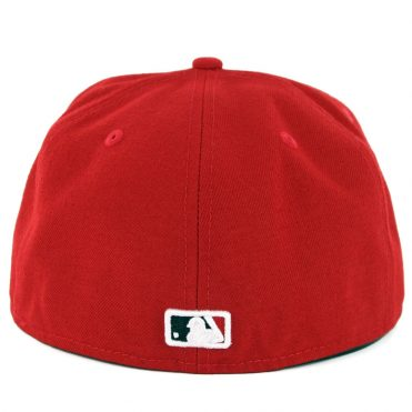 New Era 59Fifty Cincinnati Reds Home Authentic On Field Fitted Hat Red