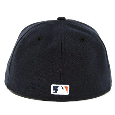 New Era 59Fifty Houston Astros Home Authentic On Field Fitted Hat Navy