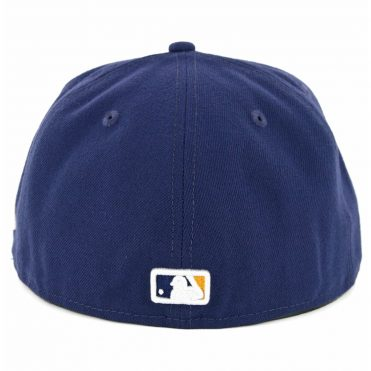 New Era 59Fifty Milwaukee Brewers Alternate 2 Authentic On Field Fitted Hat Navy