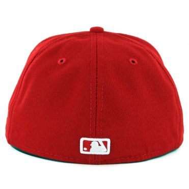 New Era 59Fifty Toronto Blue Jays Alternate 2 Authentic On Field Fitted Hat Red
