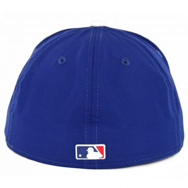 New Era 59Fifty Los Angeles Dodgers Game 2018 Batting Practice On Field Fitted Hat Dark Royal Blue