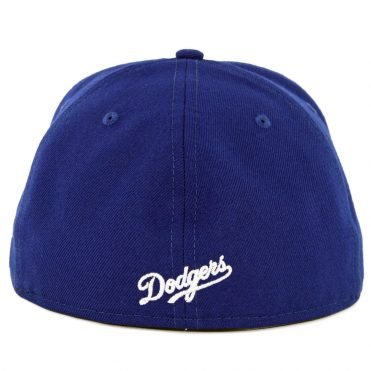 New Era 59Fifty Los Angeles Dodgers Pinned Up League Fitted Hat Royal Blue