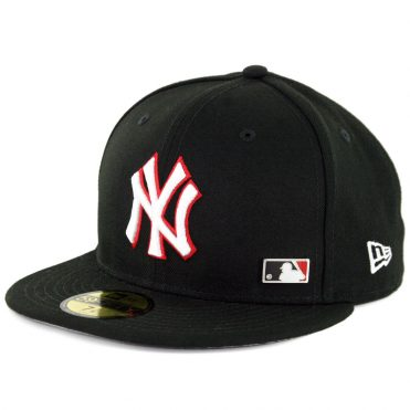 New Era 59Fifty New York Yankees Pinned Up League Fitted Hat Black