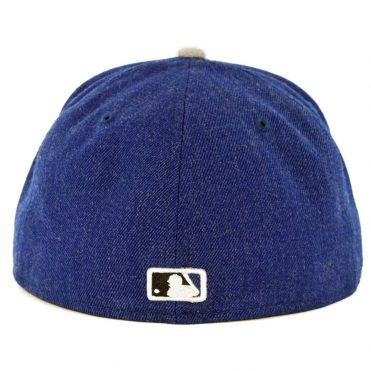 New Era 59Fifty San Diego Padres Heather Hype Fit Fitted Hat Heather Royal Blue