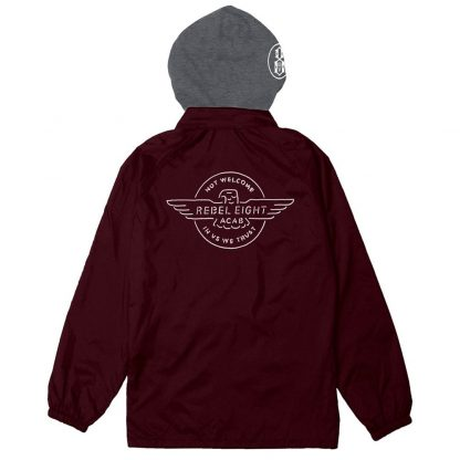REBEL8 Territory Jacket Burgundy