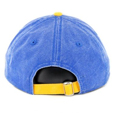New Era 9Twenty Seattle Mariners Rugged Canvas Strapback Hat Royal Blue