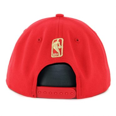 New Era 9Fifty Chicago Bulls Metal Framed Snapback Hat Red