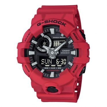 G-Shock GA700 4A Watch Red
