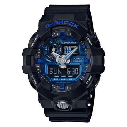 G-Shock GA710-1A2 Watch Black Blue