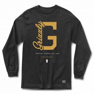 Grizzly G Side Long Sleeve T-Shirt Black