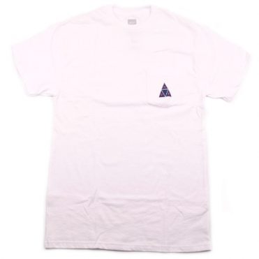 HUF TT Short Sleeve Pocket T-Shirt White