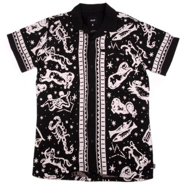 HUF Zodiac Short Sleeve Shirt Black
