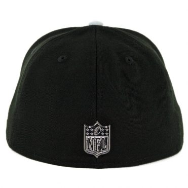 New Era 59Fifty Oakland Raiders Golden Finish Fitted Hat Black