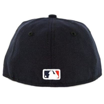 New Era 59Fifty Houston Astros Home Youth Authentic On Field Fitted Hat Navy