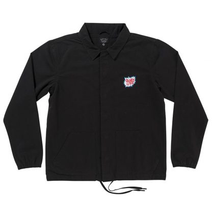 The Quiet Life Lichtenstein Garage Jacket Black