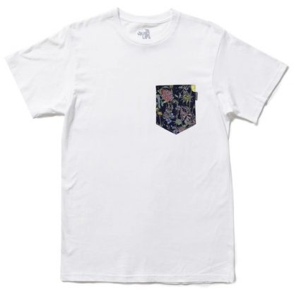 The Quiet Life Wild Wood Pocket T-Shirt White