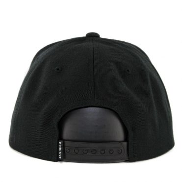 Primitive Dirty P Snapback Hat Black