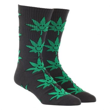 HUF Plantlife Mr. Nice Guy Sock Black