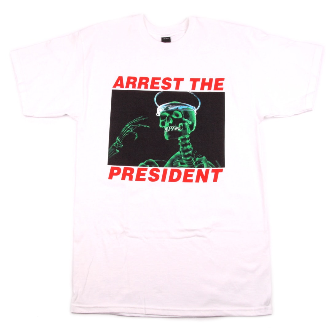 10 Deep Arrest The President T-Shirt White