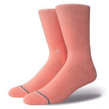 Stance Icon Sock Pastel Pink