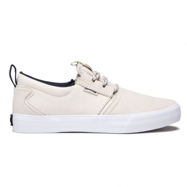 Supra Flow Shoe Bone Navy White
