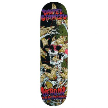 Heroin DS Vicious Nature Skateboard Deck Multi