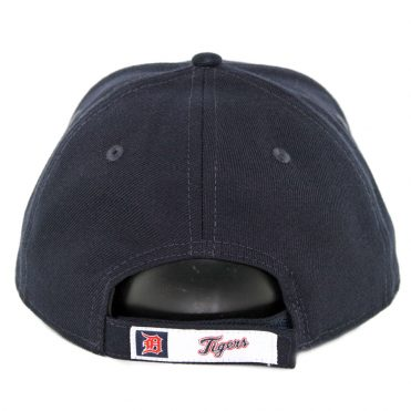 New Era 9Forty Detroit Tigers Home The League Strapback Hat Dark Navy
