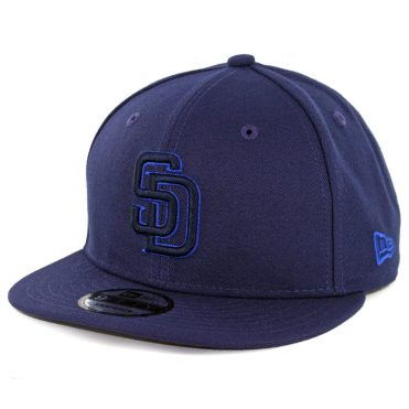 New Era 9Fifty San Diego Padres League Pop Snapback Hat Dark Navy