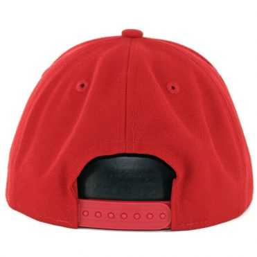 New Era 9Fifty Chicago Bulls League Pop Snapback Hat Scarlet Red