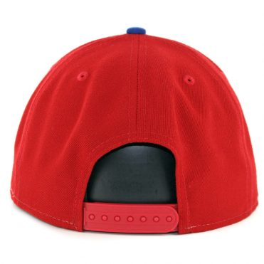 New Era 9Fifty Montreal Expos Basic Snapback Hat Red White Royal Blue