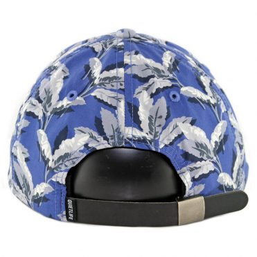 The Quiet Life Palm Polo Strapback Hat Blue