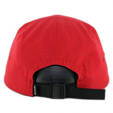 The Quiet Life La Vie Tranquille Strapback Hat Burgundy Red