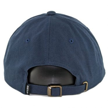 The Quiet Life Sharpie Dad Strapback Hat Navy