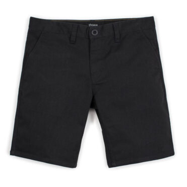 Brixton Toil II Hemmed Chino Shorts Black