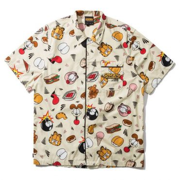 The Hundreds Garfield Pajama Set Pale Yellow