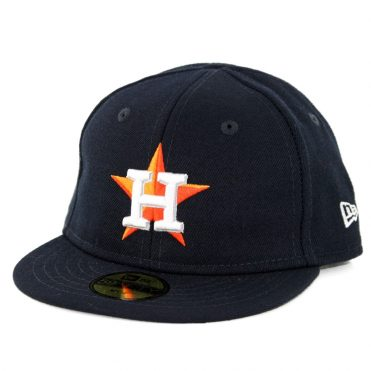 New Era 59Fifty My First Houston Astros Home Authentic On Field Fitted Hat Dark Navy