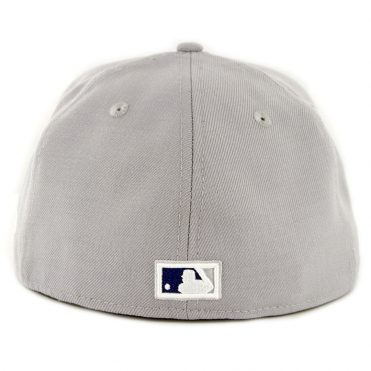 New Era 59Fifty Los Angeles Dodgers Cooperstown Wool 1958 Fitted Hat Light Grey