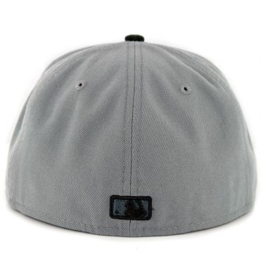 New Era 59Fifty Los Angeles Dodgers Fitted Hat Storm Grey Black