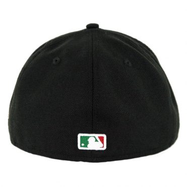 New Era 59Fifty San Diego Padres Mexico Tricolor Fitted Hat Black