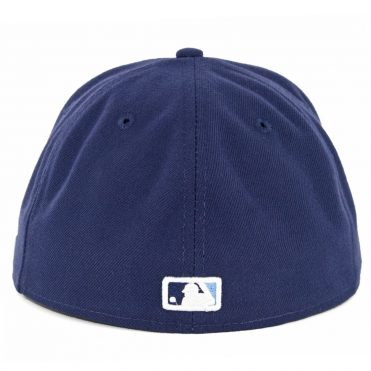 New Era 59Fifty Tampa Bay Rays Alternate Authentic On Field Fitted Hat Light Navy