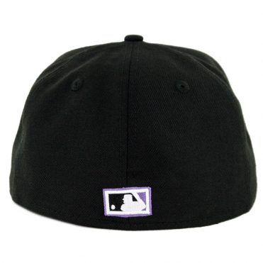 New Era 59Fifty Tampa Bay Rays 1998 Cooperstown Wool Fitted Hat Black