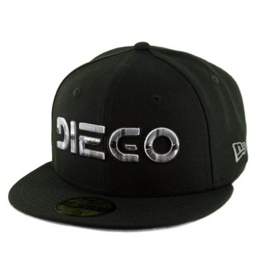 New Era x Billion Creation 59Fifty Diego Fitted Hat Black