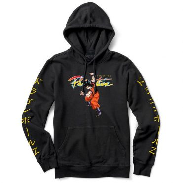 Primitive x Dragon Ball Z Nuevo Goku Pullover Hooded Sweatshirt Black