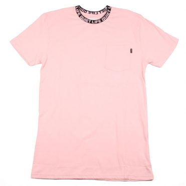 The Quiet Life Jacquard Crewneck T-Shirt Pink