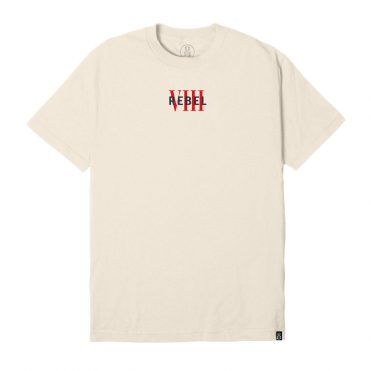 REBEL8 Rebel VIII Short Sleeve T-Shirt Cream
