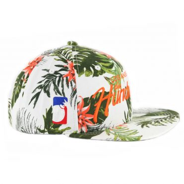 The Hundreds Team Flower Snapback Hat White