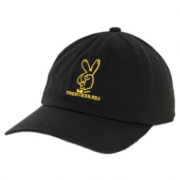 The Hundreds Peace Strapback Hat Black