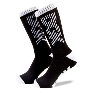 DGK Levels Crew Sock Black